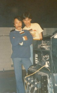 Bun Sato (L) and Hiro (R) 1987